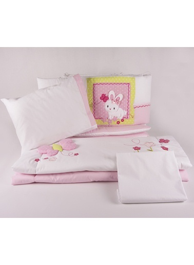 Bunny Park Yatak Uyku Setı (Kenar Korumalı 6 Parça)-Aybibaby